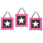 Sweet Jojo Designs Cowgirl 3-Piece Wall Hanging Set