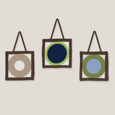 Sweet Jojo Designs Designer Dot 3-Piece Wall Hanging Set