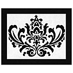 Sweet Jojo Designs Isabella Floor Rug in Pink/Black/White