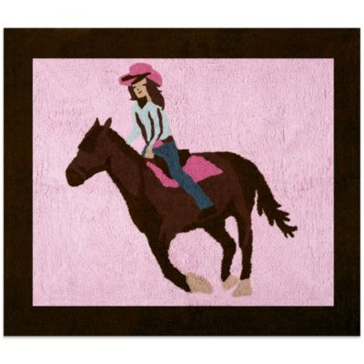 Sweet Jojo Designs Cowgirl Rug