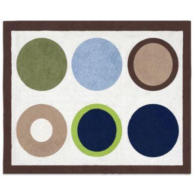 Sweet Jojo Designs Designer Dot Floor Rug