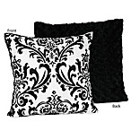 Sweet Jojo Designs Isabella Throw Pillow in Black/White
