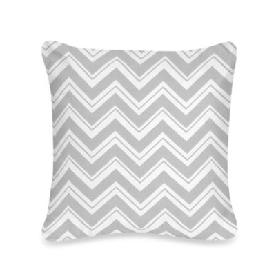 Sweet Jojo Designs Zig Zag Throw Pillow in Turquoise