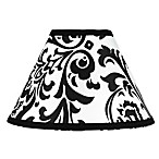 Sweet Jojo Designs Isabella Lamp Shades in Black/White