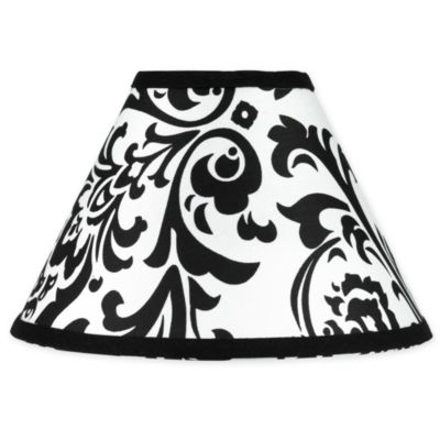 Sweet Jojo Designs Isabella Lamp Shade in Hot Pink