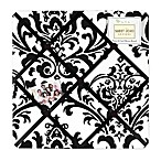 Sweet Jojo Designs Fabric Memo Board in Black/White