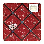 Sweet Jojo Designs Wild West Fabric Memo Board in Bandana Print