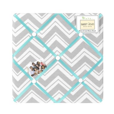 White Grey Memo Board
