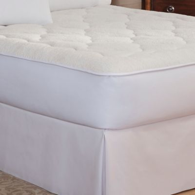 Therapedic® Sherpa Reversible Queen Mattress Pad