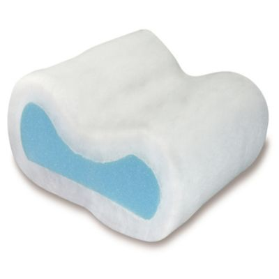 Contour Secret Fiberfill Pillow in White