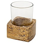 India Ink Louis Dark Travertine Tumbler