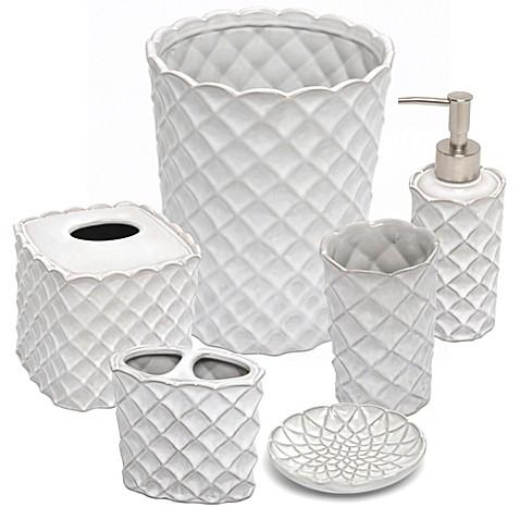 clara bathroom accessories bed bath beyond. Black Bedroom Furniture Sets. Home Design Ideas