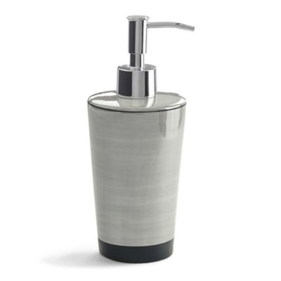 Kassatex Tribeka Lotion Dispenser in Stone