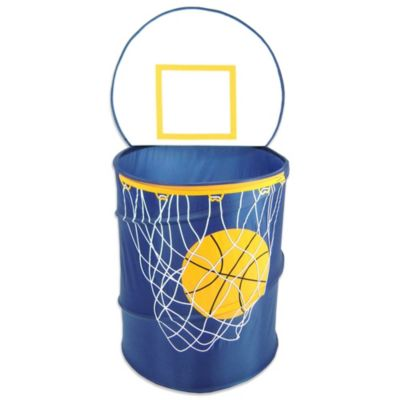 Bongo Buddy Basketball Hamper in Navy