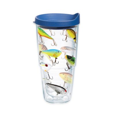 Tervis® Fish Lures 24-Ounce Tumber with Lid