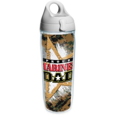 Tervis® 24-Ounce Proud Marine Dad Wrap Water Bottle with Lid