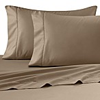 Wamsutta® Ultra Soft Sateen 525-Thread-Count Queen Fitted Sheet in Canvas