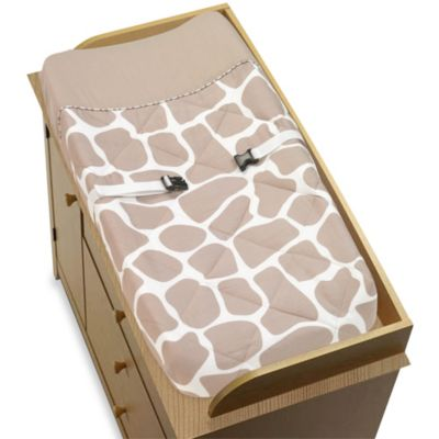 Giraffe Changing Pad Cover