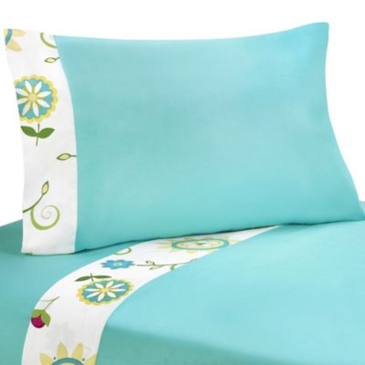 Sweet Jojo Designs Layla Twin Sheet Set