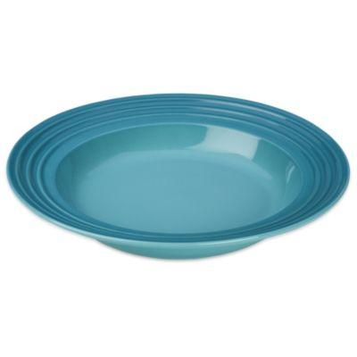 Le Creuset® 10-Inch Rim Soup Bowl in Caribbean