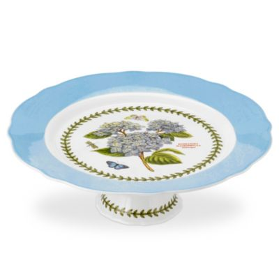 Portmeirion Botanic Garden Terrace Large Footed Cake Plate