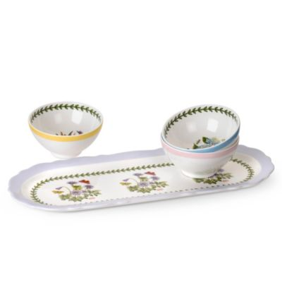 Portmeirion Botanic Garden Terrace Sandwich Tray and Dip Dishes
