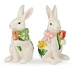 Portmeirion Botanic Garden Terrace Bunny Salt and Pepper Shakers