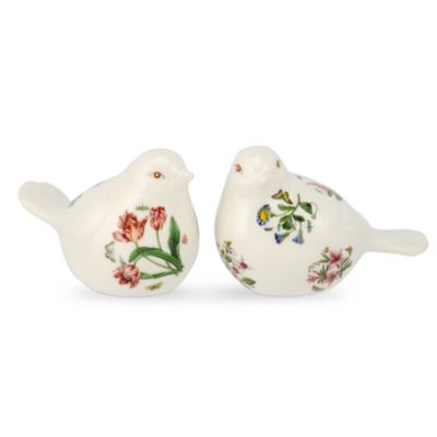 Portmeirion Botanic Garden Terrace Bird Salt & Pepper Shakers