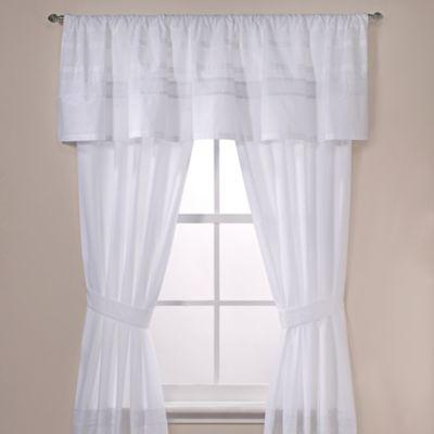 Real Simple® Harper Window Valance