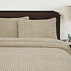Honeycomb Standard Pillow Sham in Sand