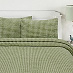 Honeycomb Bedspread in Sage