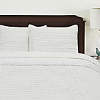 Honeycomb Bedspread in White