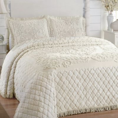 Josephine Standard Pillow Sham in Ivory