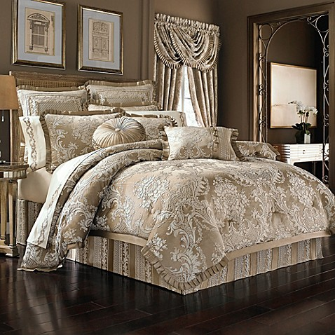 J Queen New York Celeste Comforter Set Bed Bath Amp Beyond
