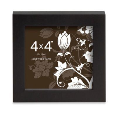 Prinz Soho 4-Inch x 4-Inch Wood Frame in Black