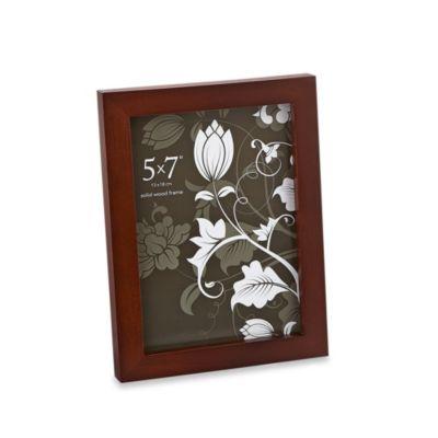 Prinz Soho 5-Inch x 7-Inch Wood Frame in Espresso