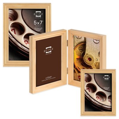 Prinz Madison 4-Inch x 6-Inch Wood Picture Frame in Natural