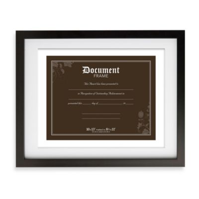 Prinz Soho 8.5- Inch x 11- Inch Matted Document Frame