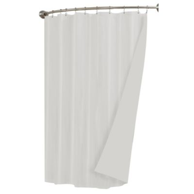 Waterproof Fabric 70-Inch x 72-Inch Shower Liner