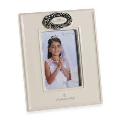 Grasslands Road® First Communion 4-Inch x 6-Inch Picture Frame