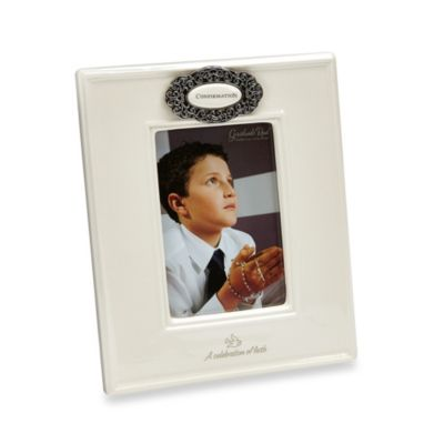 Grasslands Road® Confirmation 4-Inch x 6-Inch Picture Frame