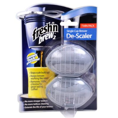 Fresh'n Brew® 2 Single Cup Brewer De-Scaler (2-Pack)