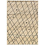 Oriental Weavers™ Marrakesh Contemporary Grid Rug in Ivory