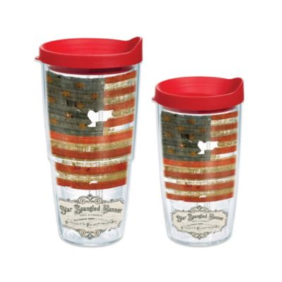Tervis® Smithsonian Star Spangled Banner 24 oz. Wrap Tumbler with Lid