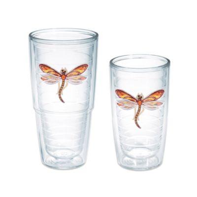 Tervis® Shimmer-Layered Orange Dragonfly 24 oz. Tumbler