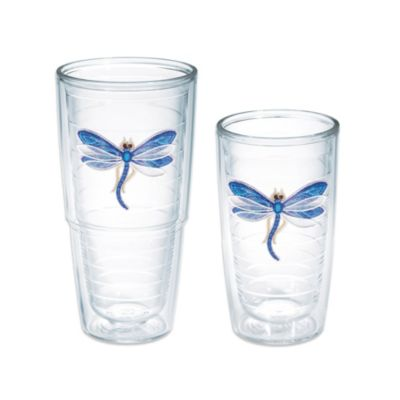 Tervis® Shimmer-Layered Blue Dragonfly 16 oz. Tumbler