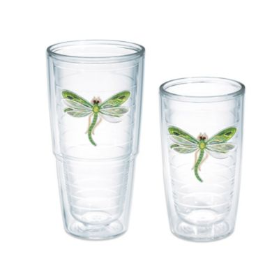 Tervis® Shimmer Layered Green Dragonfly 16-Ounce Tumbler