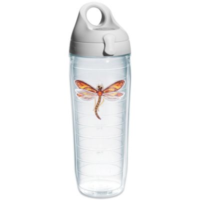 Tervis® Orange Dragonfly Emblem 24-Ounce Water Bottle with Lid