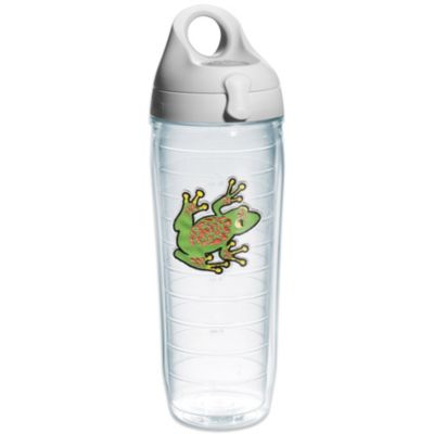 Tervis® Suede Green Tree Frog 24 oz. Water Bottle with Lid