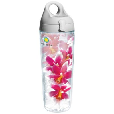 Tervis® 24-Ounce Smithsonian Pink Orchid Wrap Water Bottle with Lid